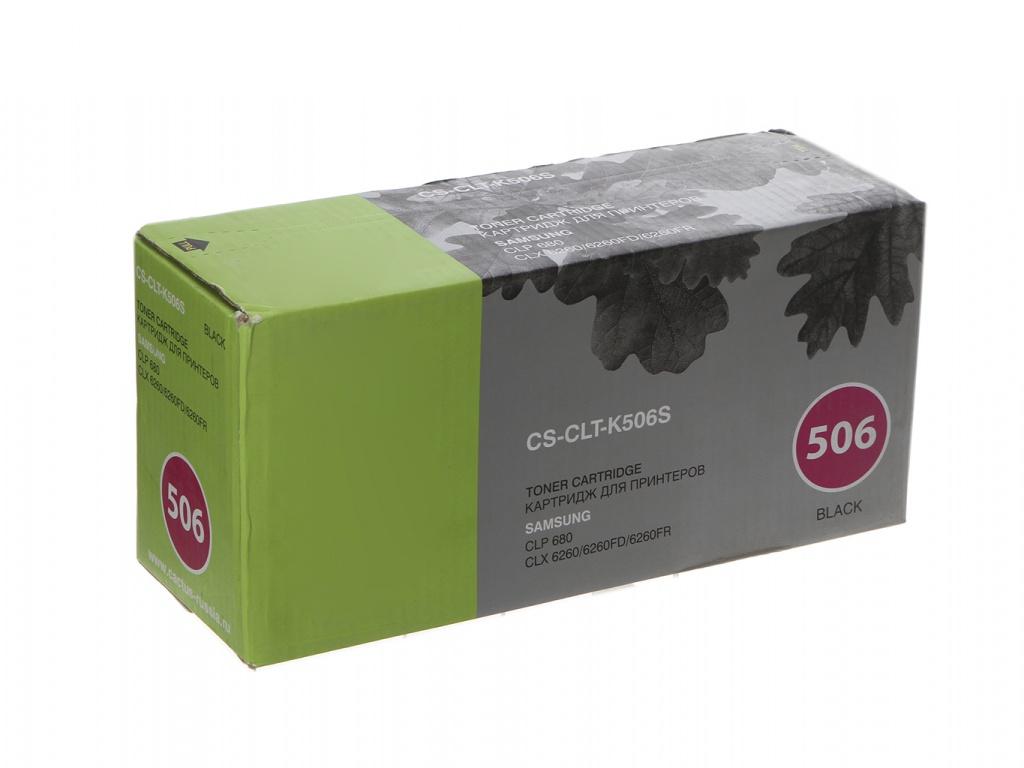Картридж Cactus CS-CLT-K506S Black для Samsung CLP 680 CLX6260/6260FD/6260FR