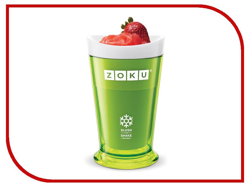 Форма для холодных десертов Zoku Slush & Shake Green ZK113-GN