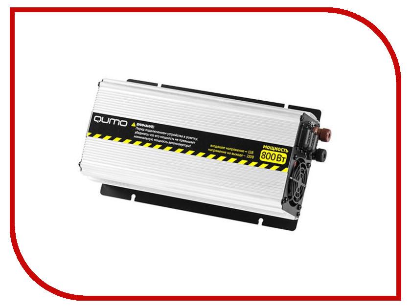 Автоинвертор Qumo 800W с 12В на 220В  цены