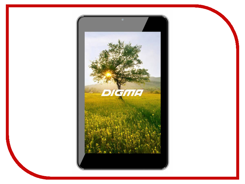Планшет Digma Optima 7303M Black TS7070AW (ARM A33 1.3 GHz/512Mb/8Gb/Wi-Fi/Cam/7.0/1280x800/Android) 390118