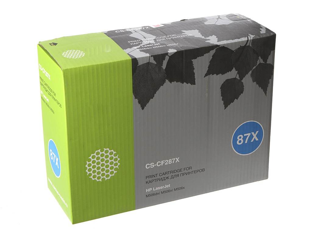 Картридж Cactus CS-CF287X Black для HP LJ M506dn/M506n/M506x