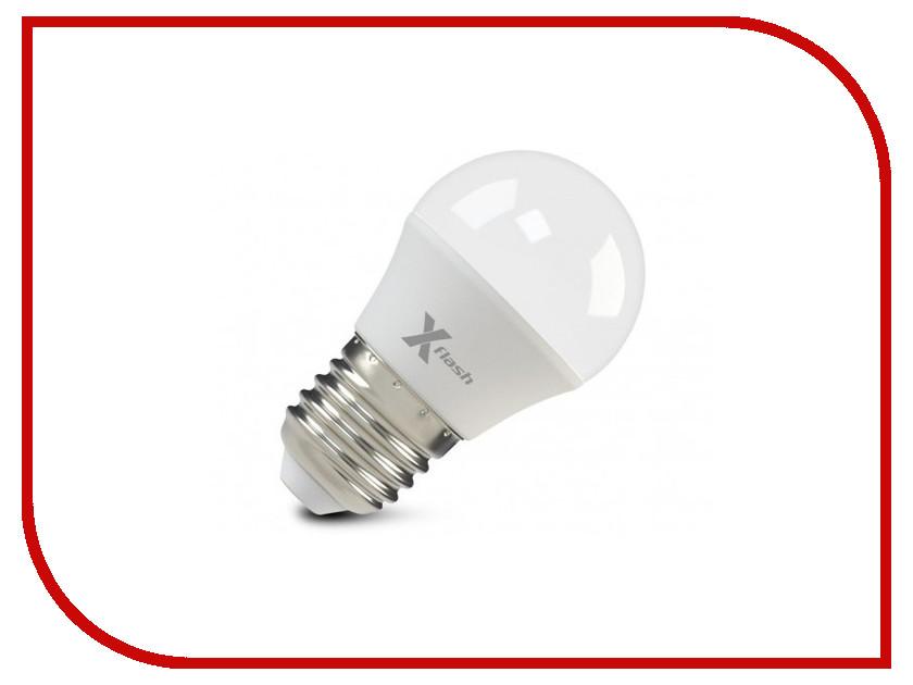 Лампочка X-flash XF-E27-G45-6.5W-2700K-230V 47536 лампочка feron lb 61 4led e27 5w 2700k 230v 13418