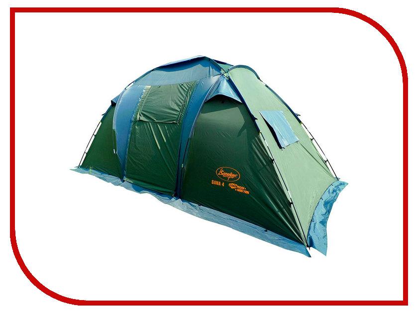 Палатка Canadian Camper Sana 4 Forest палатка canadian camper tanga 3 цвет royal дуги 9 5 мм