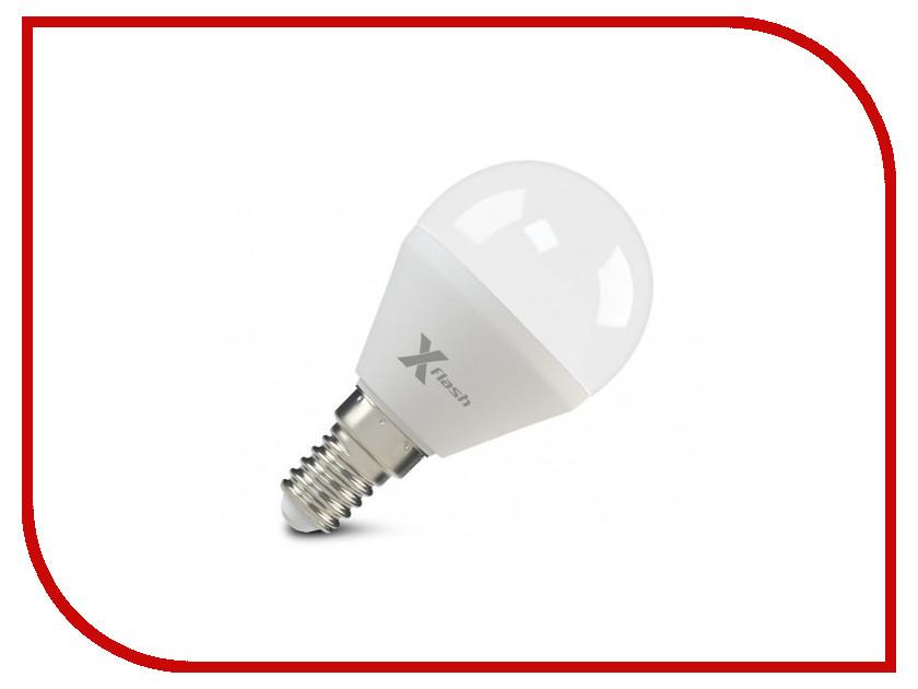 Лампочка X-flash XF-E14-P45-6.5W-2700K-230V 47512 лампочка ecowatt шарик p45 e14 5 3w 230v 2700k warm white