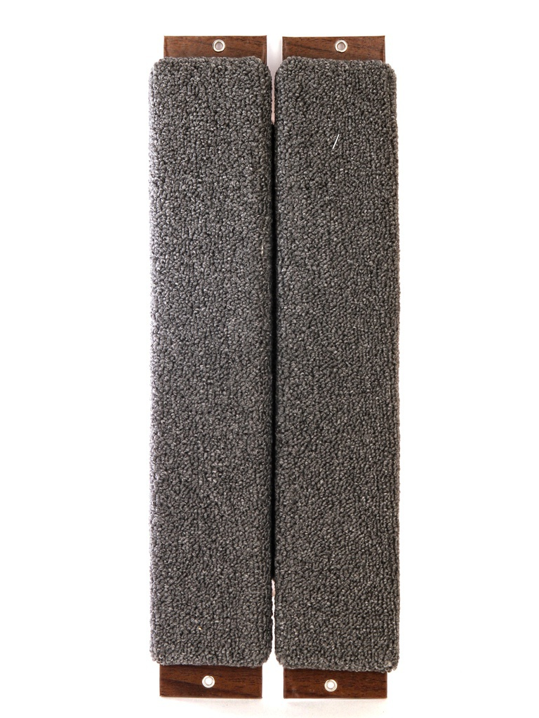 Когтеточка Царапка Ковролиновая большая угловая 68х30см А303