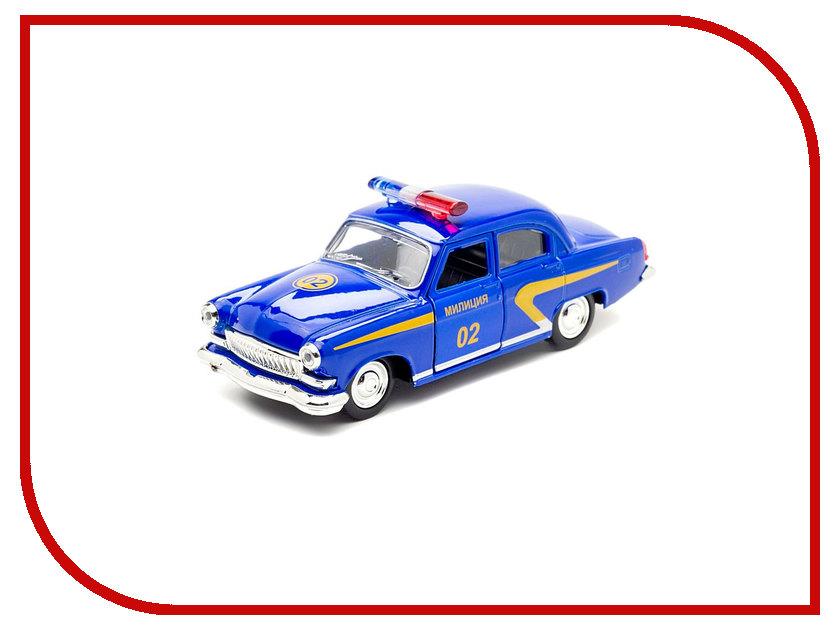 Машина Технопарк ГАЗ Волга-21 Милиция X600-H09040-R автомобиль технопарк волга газ 21 металлическая инерционная x600 h09039