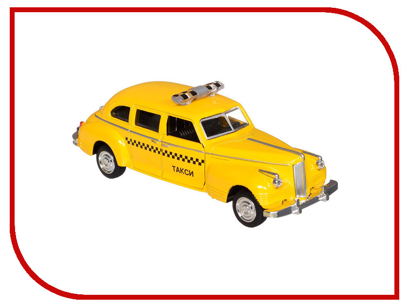 Игрушка Технопарк ЗИС-110 Такси X600-H09045-R игрушка технопарк газ чайка x600 h09083 r