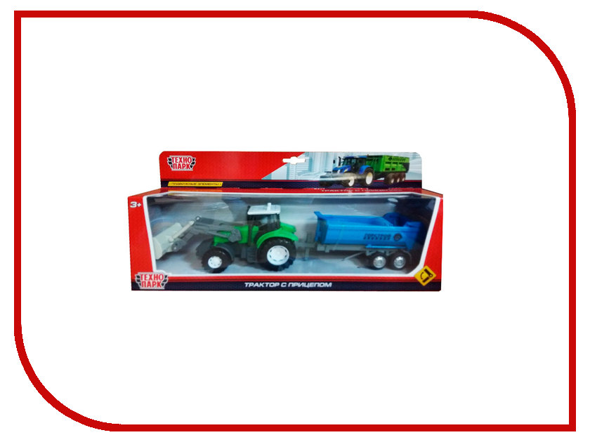 Игрушка Технопарк Агрострой трактор U1402E-8 технопарк самосвал горстрой 20 см u1402e 4