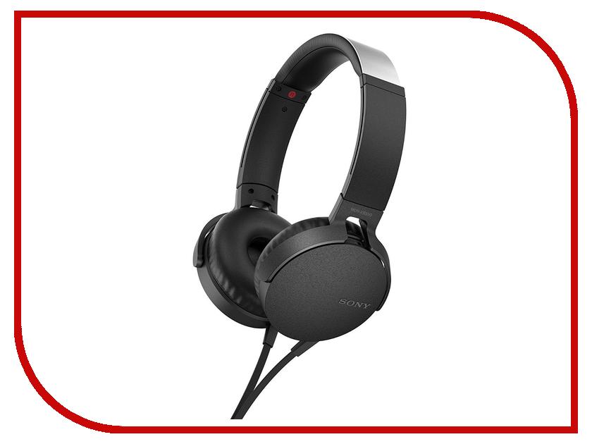 Sony MDR-XB550AP Black наушники sony mdr xb550ap black