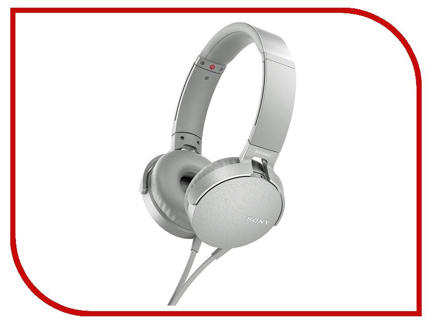 Sony MDR-XB550AP White наушники sony mdr xb550ap black