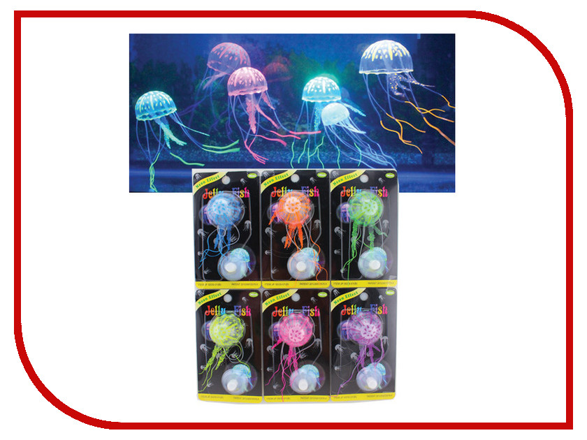 Jelly-Fish Медузы 7959