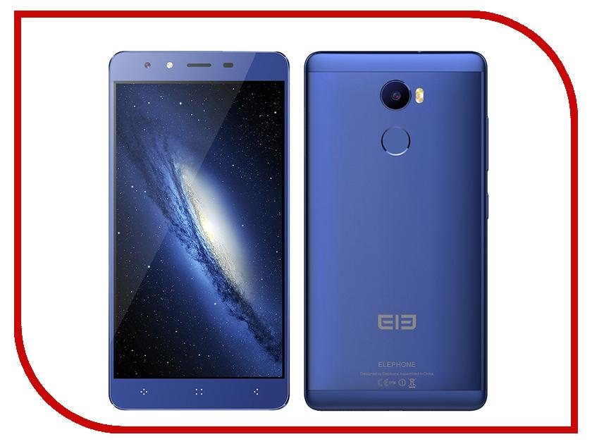 Сотовый телефон Elephone C1 Blue<br>