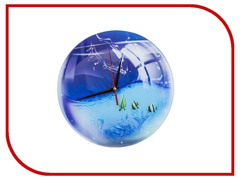 Часы Эврика Аквариум 98107 часы эврика котенок с рыбкой 98106
