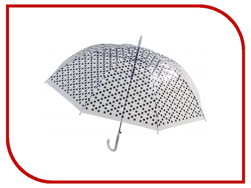 Зонт Эврика Горошек Black 97860