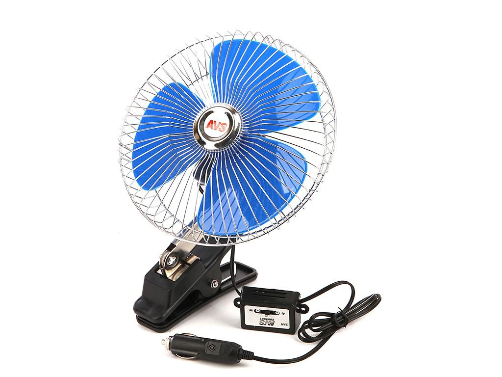 Вентилятор AVS Comfort 8048C 24V Silver A78002S