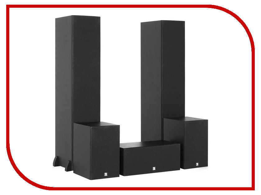 Колонки Boston Acoustics CS260 II 5.0 Black siemens kg39nxw20