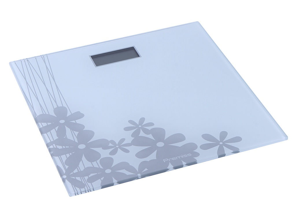 Весы напольные Tefal PP1070 Premiss Flower White весы напольные tefal pp1061v0 premiss white стекло до 150кг