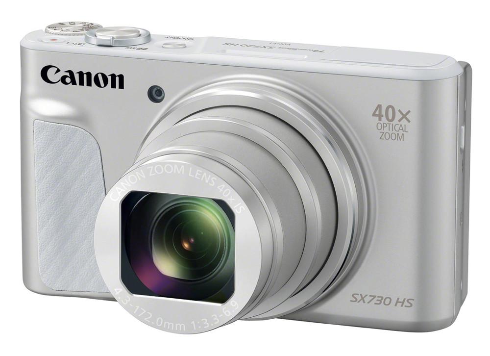 Фото - Фотоаппарат Canon PowerShot SX730 HS Silver фотоаппарат canon powershot sx740 hs black