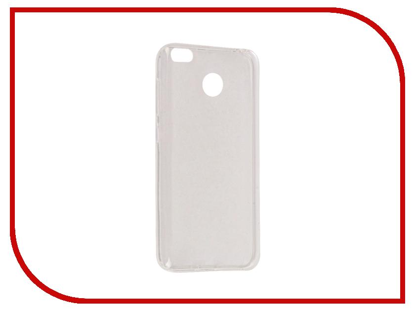 Аксессуар Чехол Xiaomi Redmi 4X iBox Crystal Silicone Transparent аксессуар чехол xiaomi redmi 4 onext silicone transparent 70500
