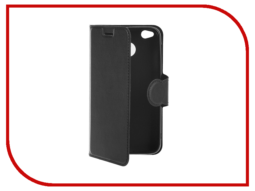 Аксессуар Чехол Xiaomi Redmi 4X Red Line Book Type Black УТ000011366 чехол книжка red line book type для xiaomi redmi 5 black