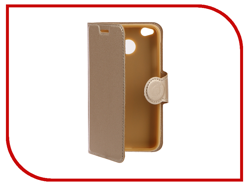 Аксессуар Чехол для Xiaomi Redmi 4X Red Line Book Type Gold УТ000011365 чехол книжка red line book type для xiaomi redmi 5 black