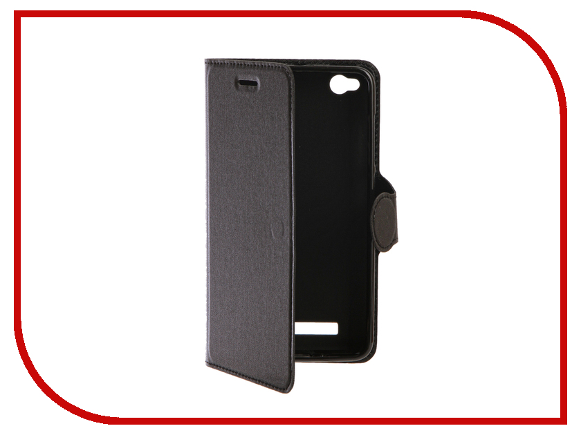 Аксессуар Чехол Xiaomi Redmi 4A Red Line Book Type Black аксессуар чехол xiaomi redmi note 4 red line book type gold