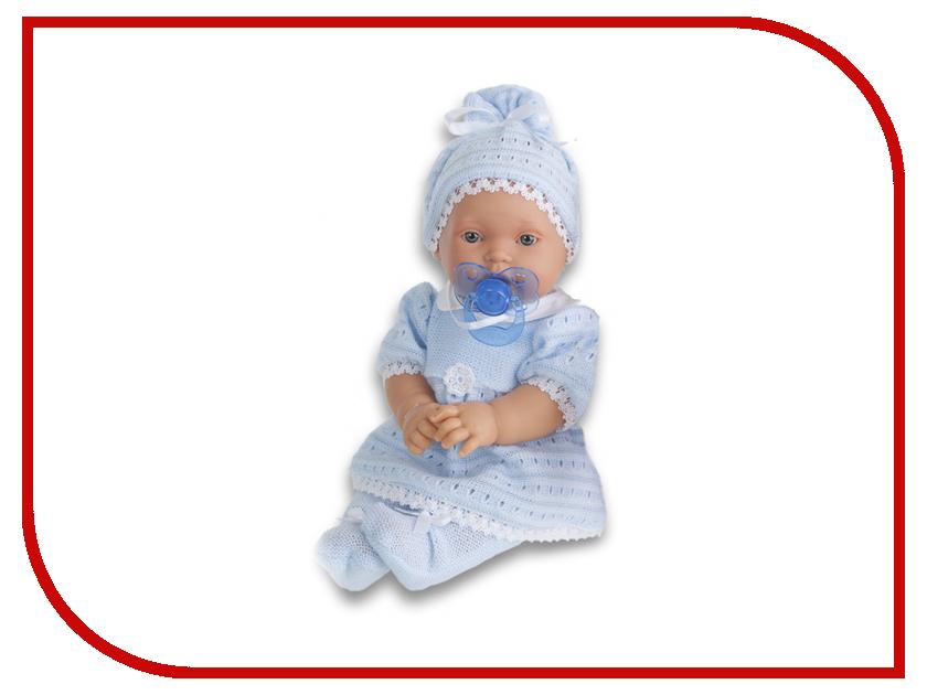 Кукла Antonio Juan Кукла младенец Лана Light Blue 1109B juan antonio кукла младенец карла в чемодане цвет одежды розовый