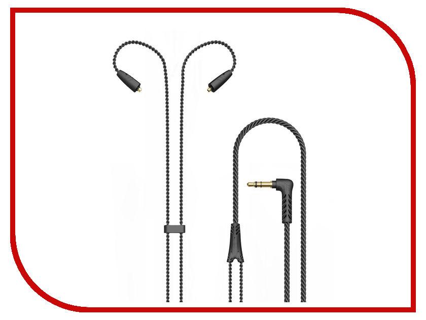 Аксессуар MEE Audio MMCX Stereo Audio Cable-BK для Pinnacle P1 original mee audio pinnacle p1 audiophile bass hifi dj studio monitor music in ear earphones w detachable cable vs pinnacle p2