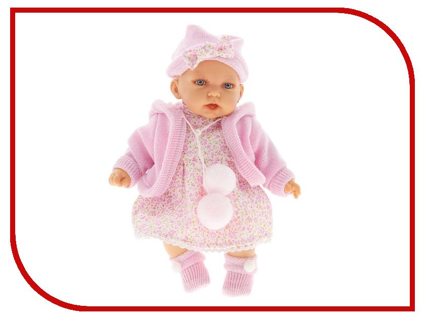 Кукла Antonio Juan Азалия Pink 1220P кукла antonio juan кукла самбор light blue 7031b