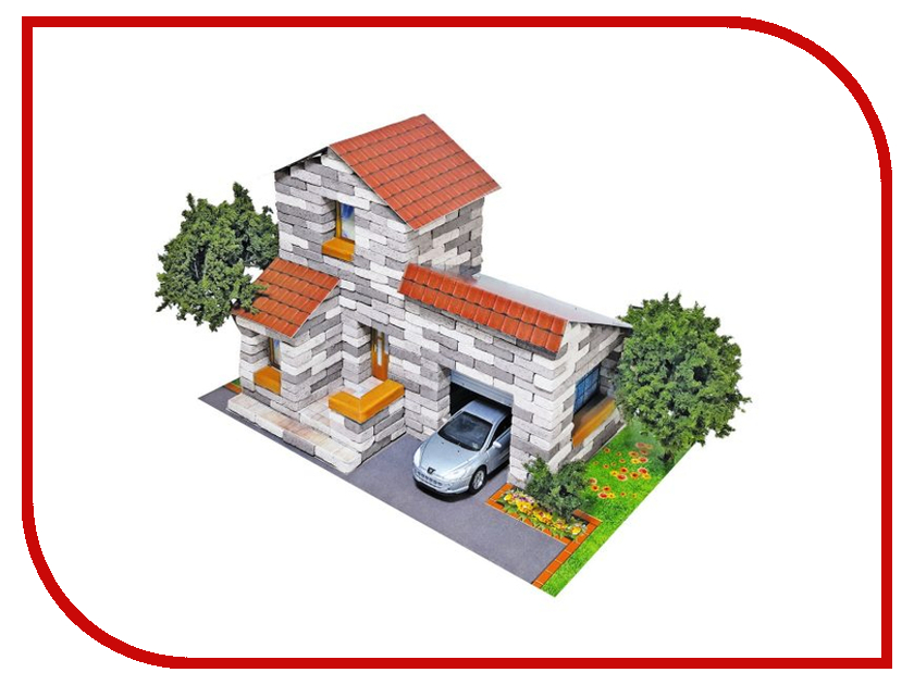 Конструктор Архитектурное моделирование Дом с гаражом 500 дет. Л-22 книга моделирование ногтей зеленова г с