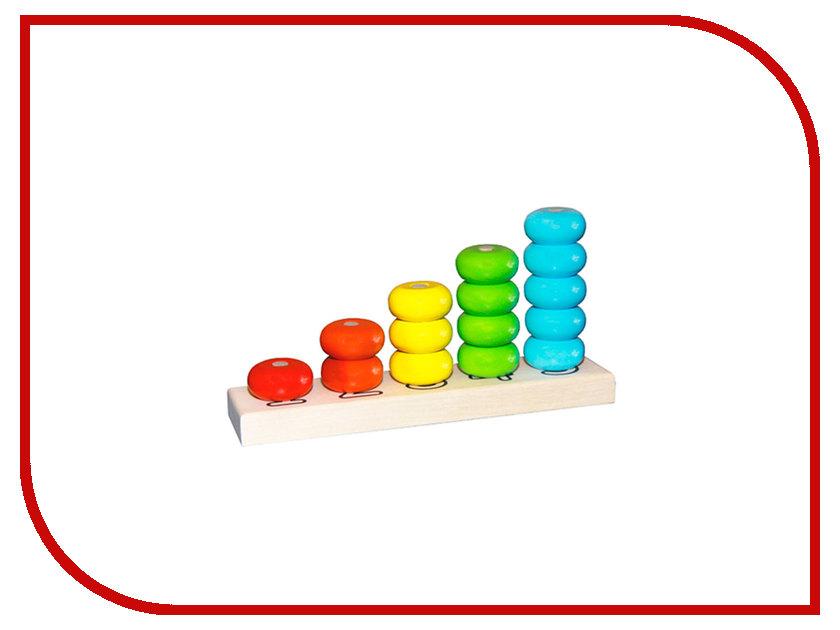 Фото Игрушка Alatoys Пирамидка счеты ПСЧ4001 игрушка счеты