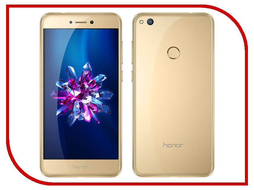 Сотовый телефон Huawei Honor 8 Lite 4/32GB Gold смартфон huawei honor 4a