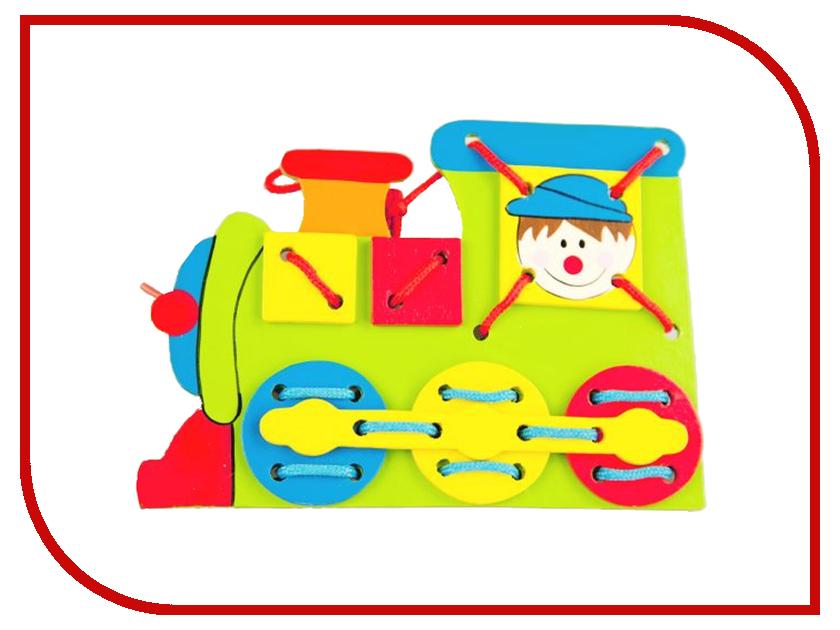 Игрушка Mapacha Шнуровка Паровоз 76405