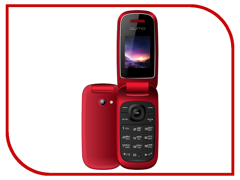Сотовый телефон Qumo Push X21 Red