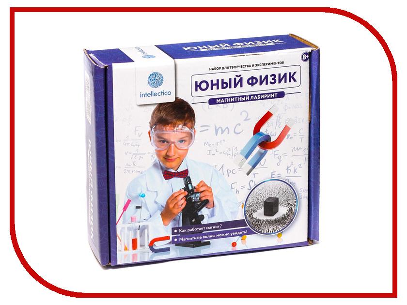 Игра Intellectico Юный физик Магнитный лабиринт 211 наколенник магнитный здоровые суставы