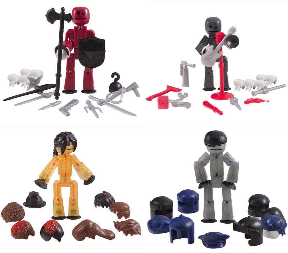 Игрушка Zing Stikbot Фигурки с аксессуарами TST620 — Фигурки с аксессуарами TST620