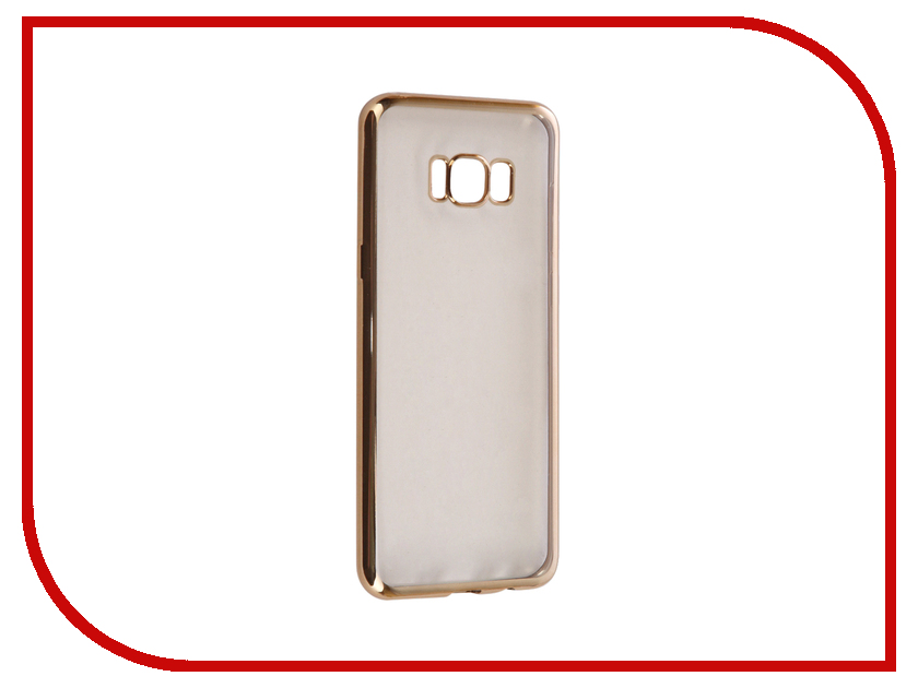 Аксессуар Чехол Samsung Galaxy S8 Plus iBox Blaze Silicone Gold frame samsung galaxy s plus i9001