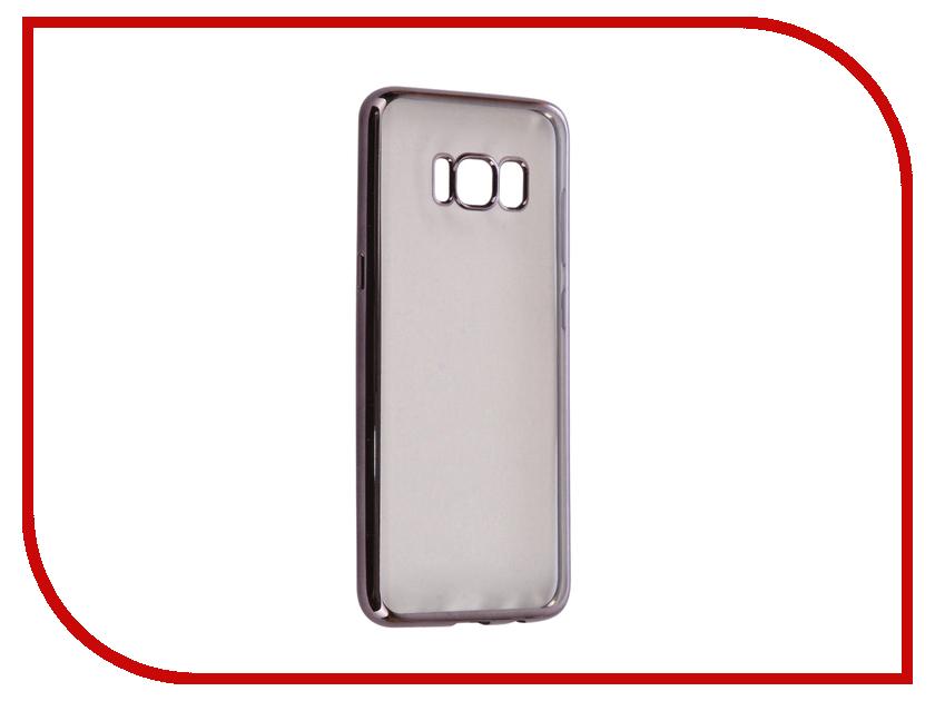 все цены на Аксессуар Чехол Samsung Galaxy S8 iBox Blaze Silicone Black frame онлайн
