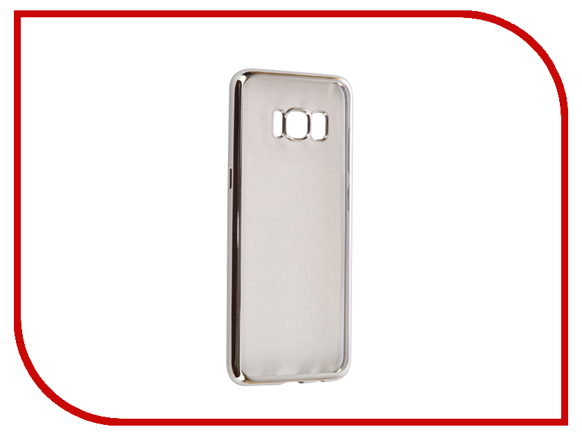 Аксессуар Чехол Samsung Galaxy S8 iBox Blaze Silicone Silver frame