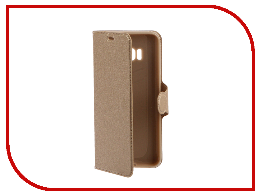 Аксессуар Чехол Samsung Galaxy S8 Red Line Book Type Gold storyfun for starters student s book