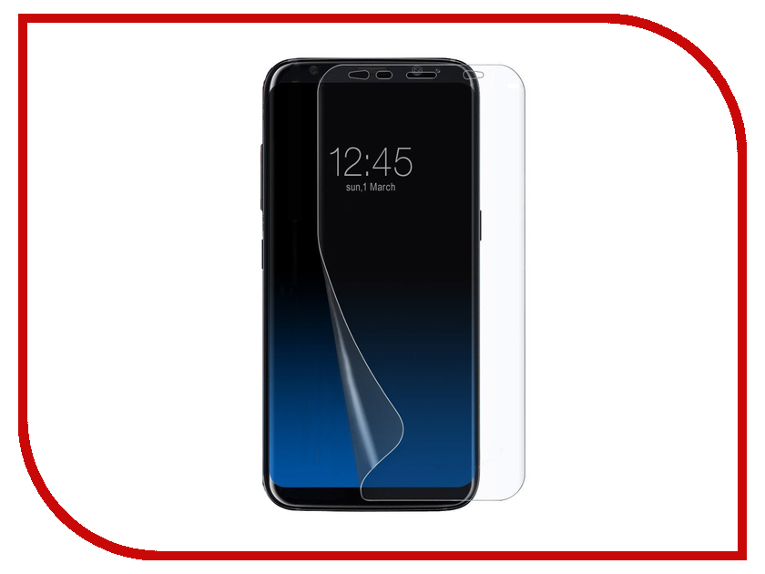 Аксессуар Защитная пленка Samsung Galaxy S8 5.8 Red Line