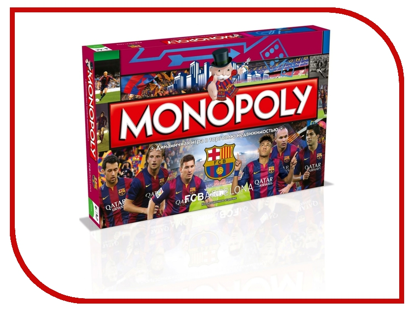 Игрушка Hasbro Monopoly FC Barcelona А90731210 fc barcelona lassa maccabi tel aviv