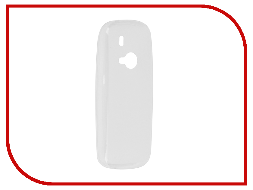 Аксессуар Чехол Nokia 3310 (2017) SkinBox Silicone Transparent T-S-N3310-005