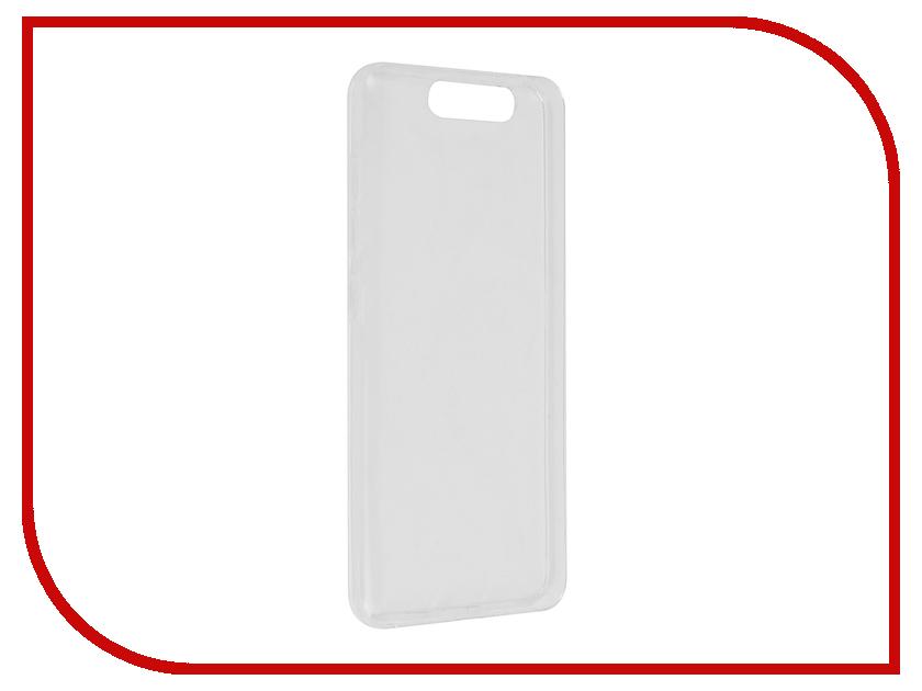 Аксессуар Чехол ZTE Blade V8 SkinBox Silicone Transparent T-S-ZBV8-005 защитные стекла skinbox защитное стекло skinbox для zte blade q2 0 3mm 2 5d