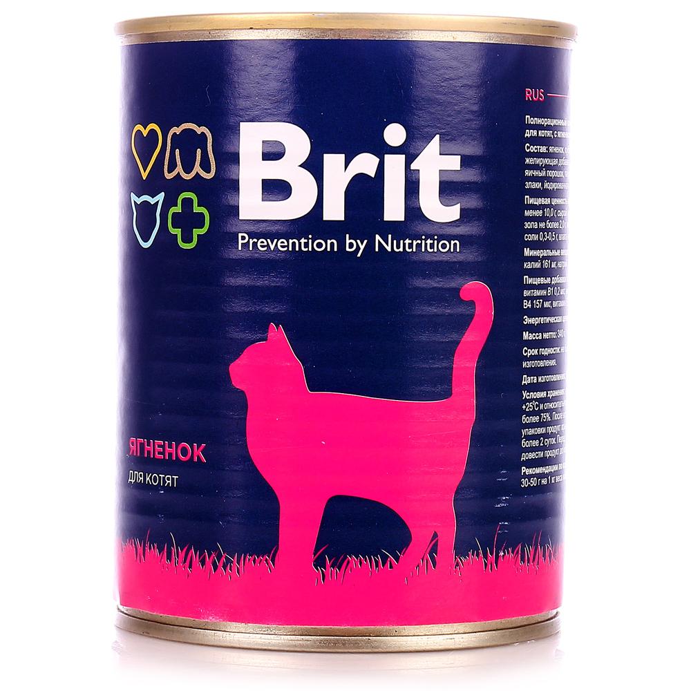 Корм Brit Ягненок 340g 29419 для котят