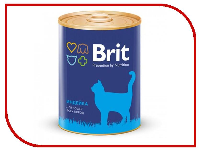 Корм Brit Индейка 340g 9402 для кошек alpha hydrox 12% 340g