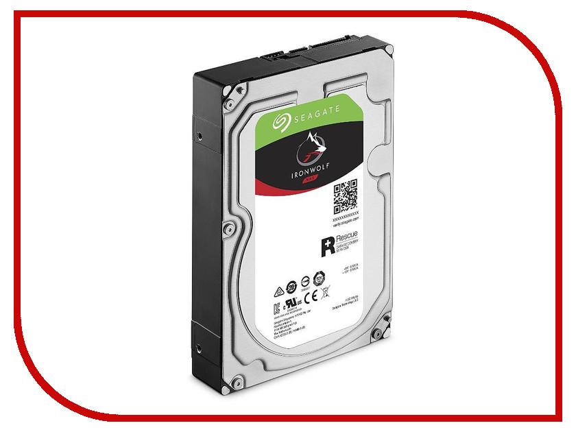 Жесткий диск 4Tb - Seagate Ironwolf Pro ST4000NE0025 жесткий диск 4tb seagate st4000vm000 video 3 5
