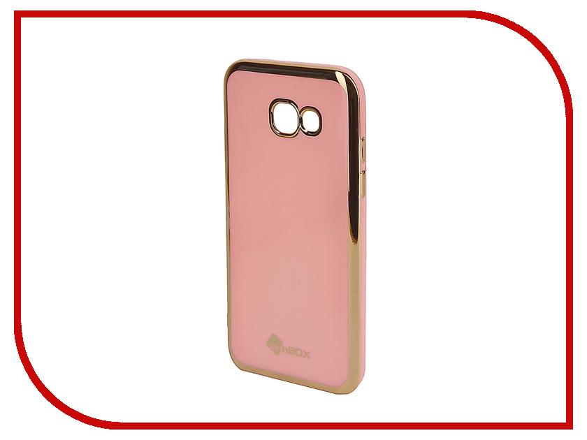 Аксессуар Чехол-накладка Samsung Galaxy A5 (2017) SkinBox Silicone Powder T-S-SGA52017n-005