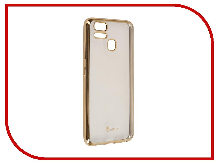 Аксессуар Чехол ASUS ZenFone 3 ZE553KL Zoom SkinBox Silicone Chrome Border 4People Gold T-S-AZE553KL-008 аксессуар чехол asus zenfone 3 zs570kl skinbox silicone chrome border 4people gold t s azs570kl 008