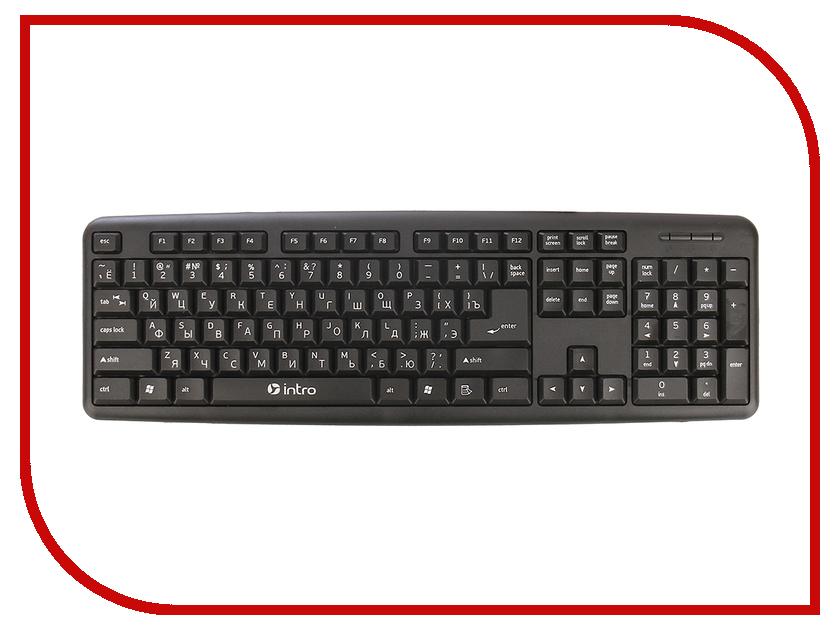 Клавиатура Intro KU100 USB Black стоимость